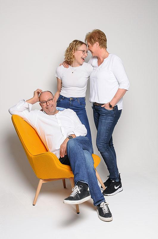 Familienfoto - Familienshooting München