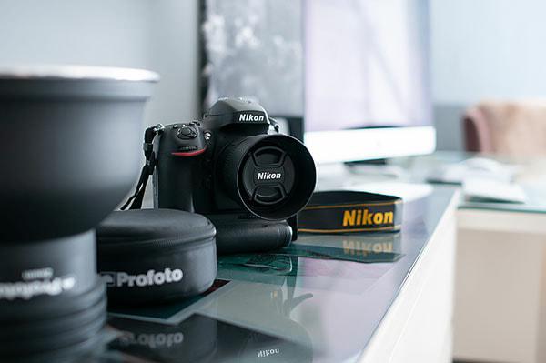 Fotostudio-Fotokamera