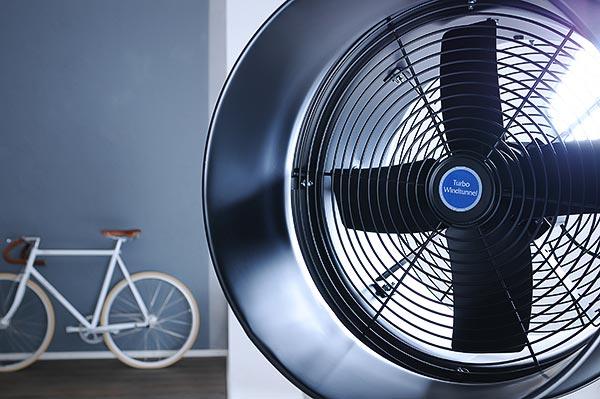 Fotostudio-Windmaschine